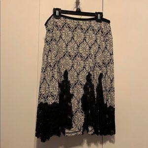 Sexy lace skirt